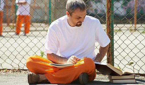 What options are there for prisoners to learn about Bible?
